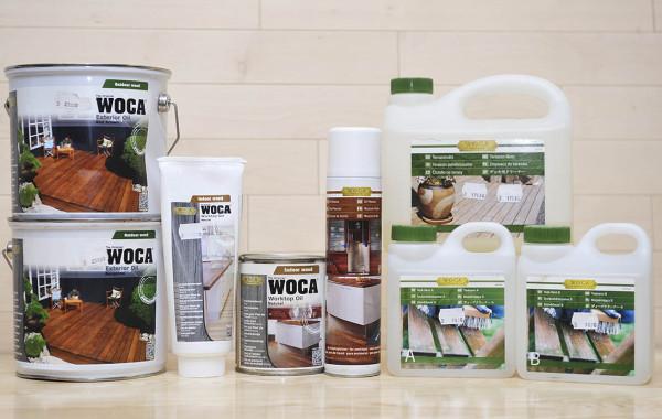 Oleje na tarasy i blaty oraz środki do konserwacji